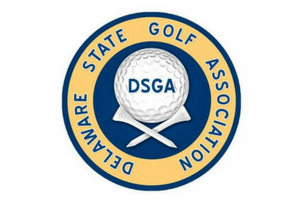 Delaware state golf association logo